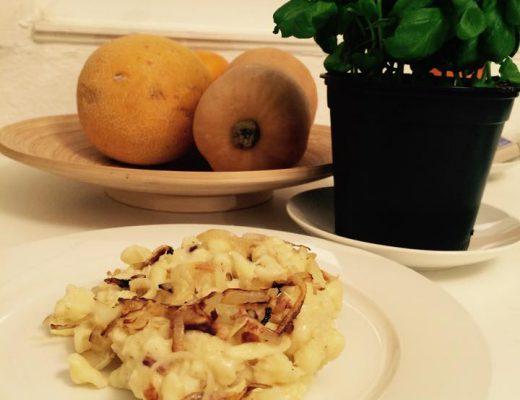 Glutenfreie cremige Käsespätzle - Zutaten