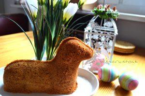Glutenfreies Osterlamm - ohne Puderzucker