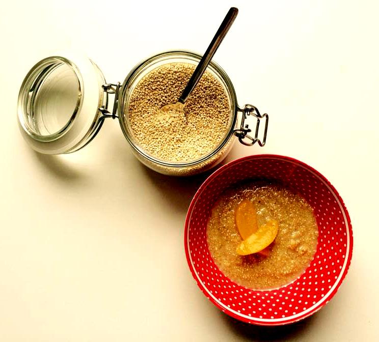 Der süße Quinoa ist eine leckere Alternative am Morgen bei diversen Intoleranzen.