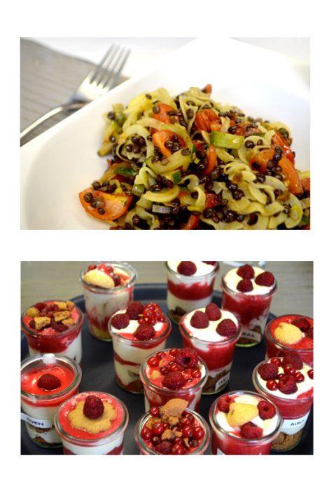 Hinter den Kulissen bei Seitz glutenfrei: leckeres Mittagessen