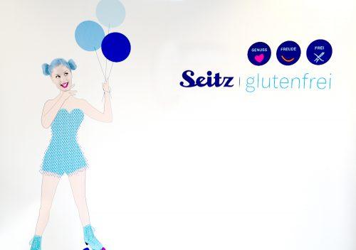 Hinter den Kulissen bei Seitz glutenfrei: Logo