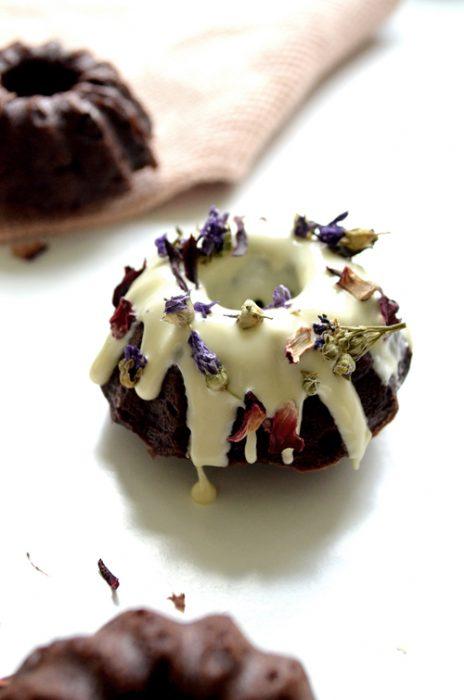 Mini Gugelhupf Brownies