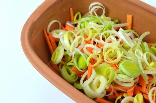 Puten Gemüsecurry